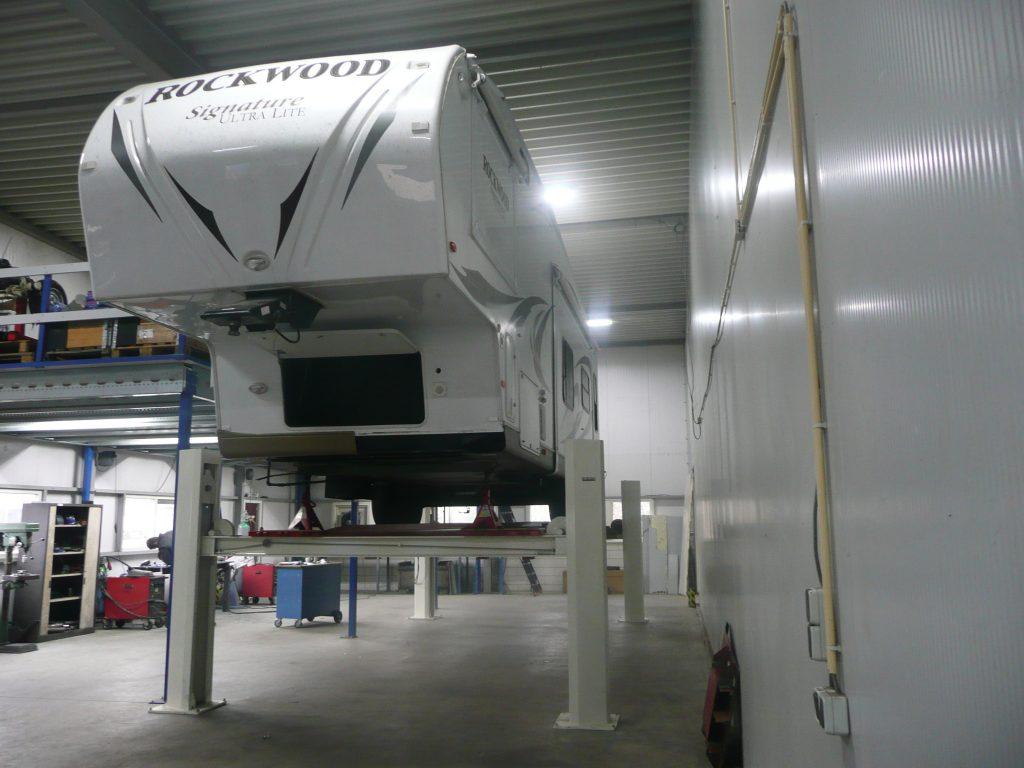 Rockwood oplegger caravan
