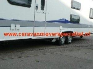 P1 mover op tandemasser caravan voor de laagste prijs
