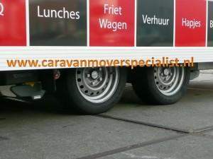 Truma Se-R vierwiel aangedreven tandemasser